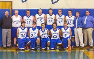 Mariners Boys Basketball Team 2014