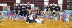 Toys for Tots program gets boost from GSA girls basketball squad
