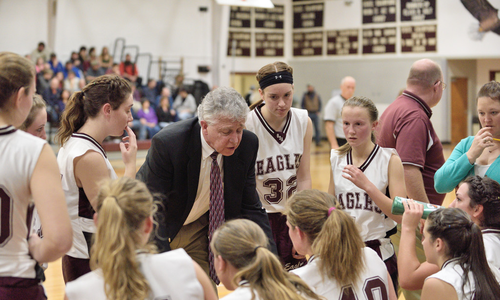 Coach Bill Case and his team