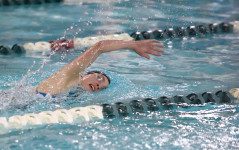 Sophomore Maya Pelletier competes