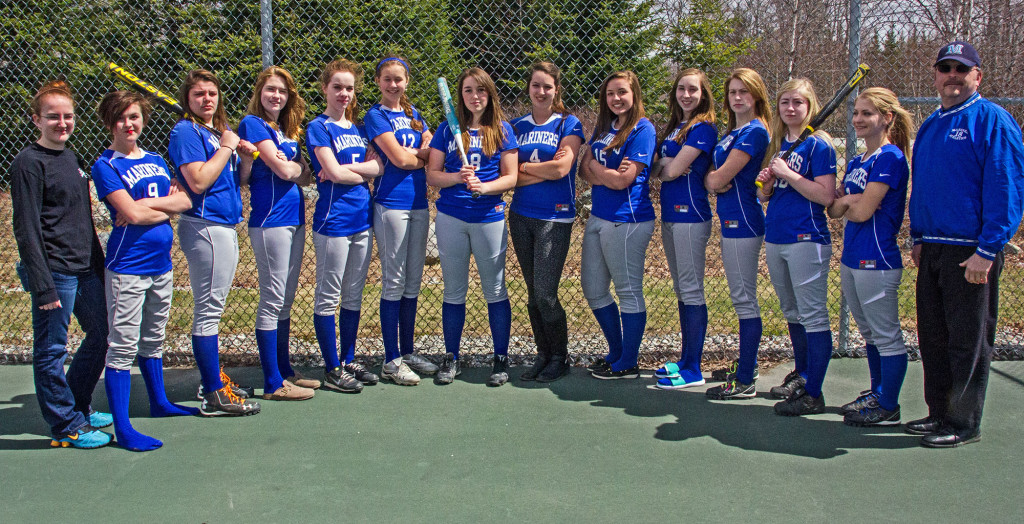 The Mariners softball team