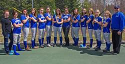 The Mariners softball team