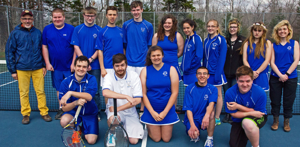 The Mariners tennis teams