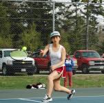 Sophia Chen swings her way to a win