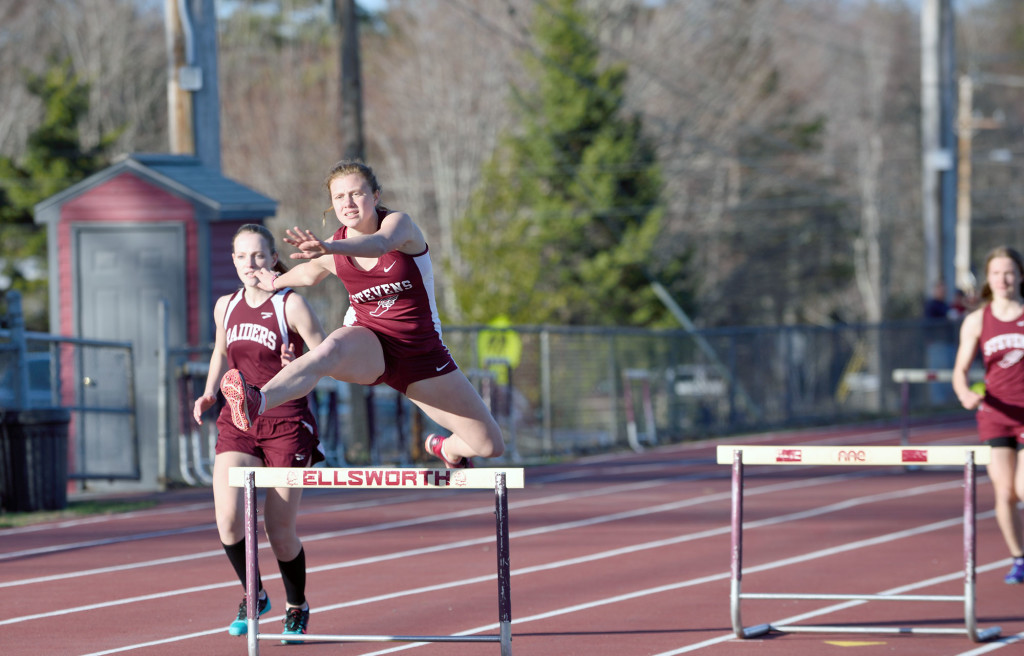 Cimeno wins in hurdles at Ellsworth meet