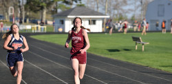 Mazie Smallidge runs