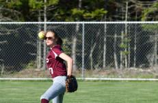 Hannah Peasley throws