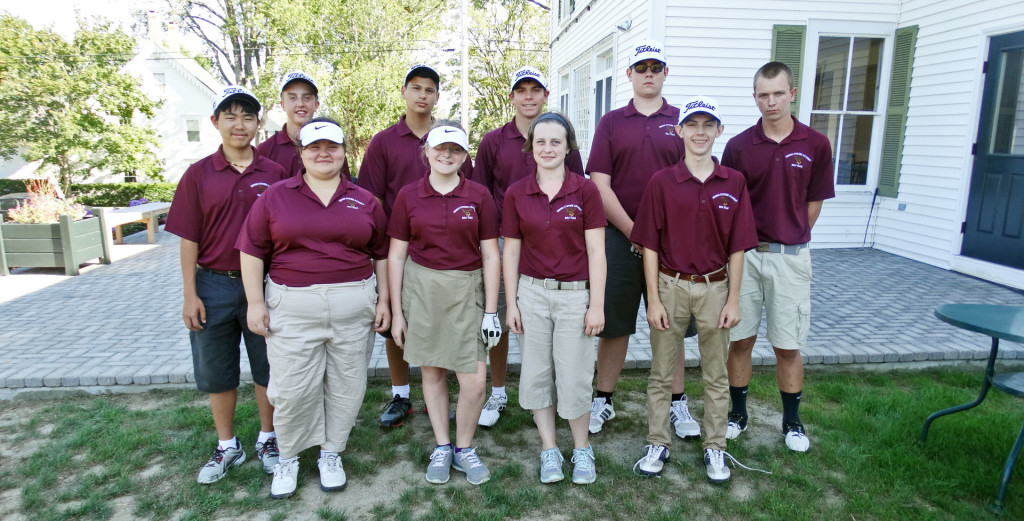 GSA varsity golf team