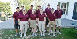GSA varsity golf team