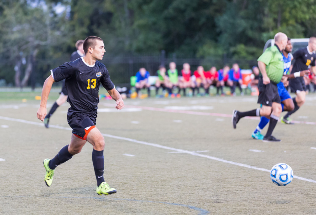 MMA mens soccer hosts Husson