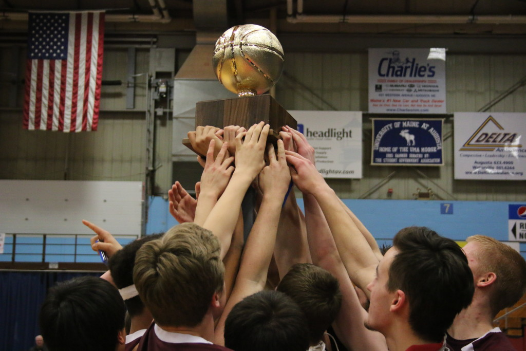 GSA takes home the gold ball. Photo by Anne Berleant
