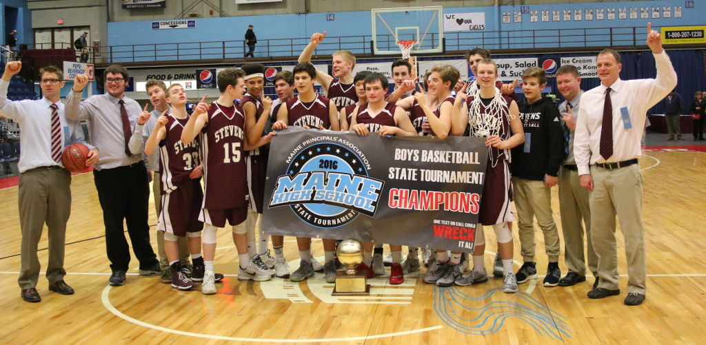 The Eagles are Class C state champion. Photo by Anne Berleant