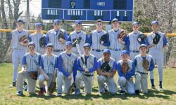The Deer Isle-Stonington High School varsity baseball team