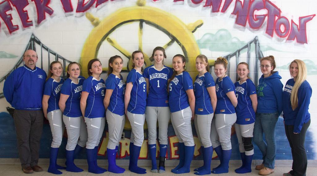 The Deer Isle-Stonington High School varsity softball team