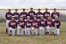 The George Stevens Academy varsity baseball team