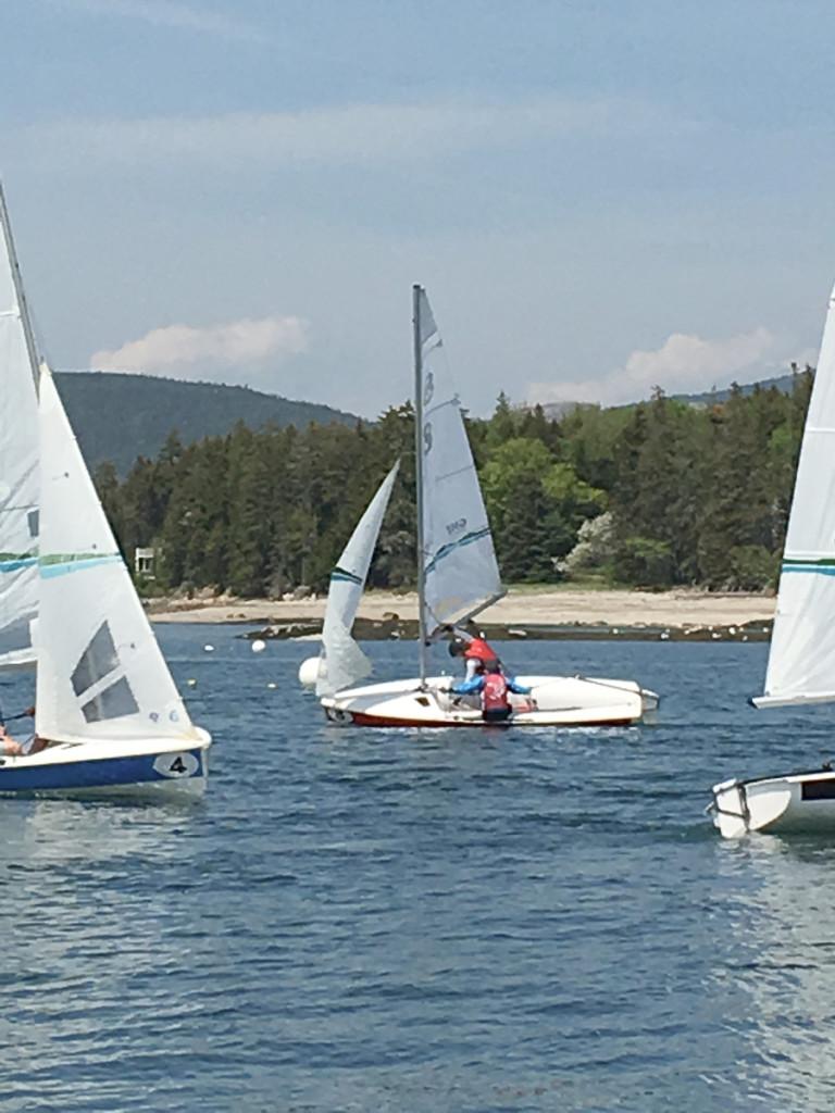 Sailing downwind