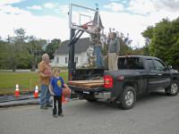 Deer Isle basketball hoop