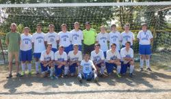 The 2016 Deer Isle-Stonington varsity boys soccer team