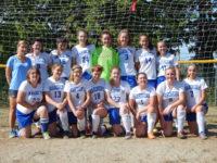 The 2016 Deer Isle-Stonington varsity girls soccer team
