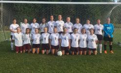 The 2016 George Stevens Academy varsity girls soccer team