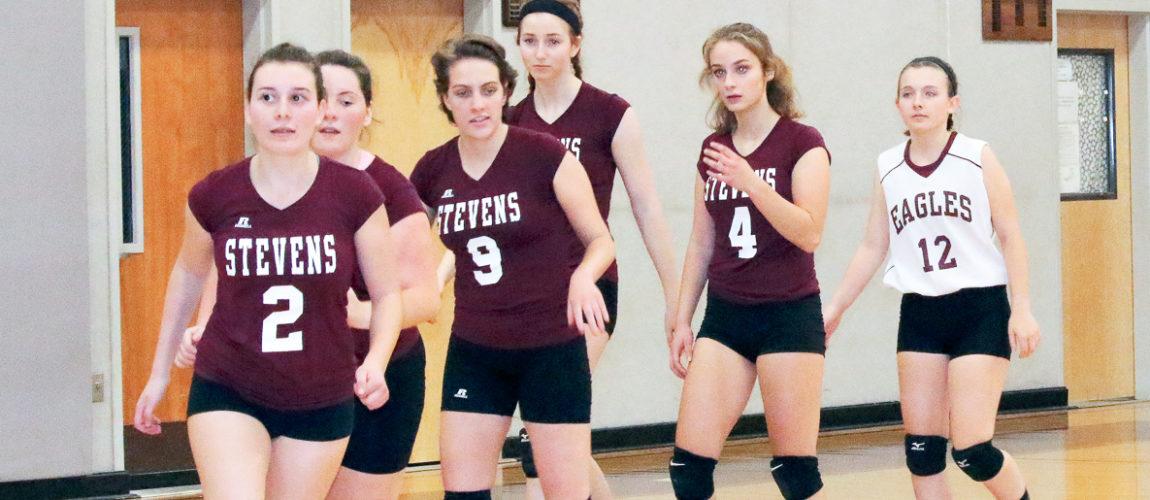 GSA volleyball closes season with win