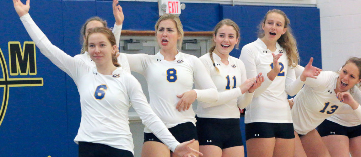 Senior captain leads MMA volleyball team to conference championship
