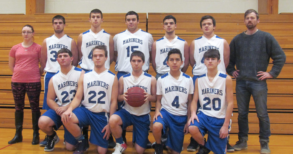 The DISHS Boys Varsity Basketball Team