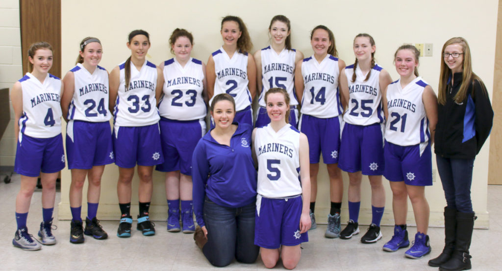 The DISHS Girls Varsity Basketball Team