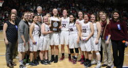 The GSA Eagles, North Class C runner ups. Photo by Anne Berlenat