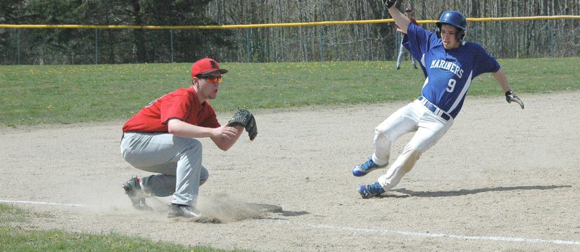 DIS baseball team loses doubleheader to Katahdin