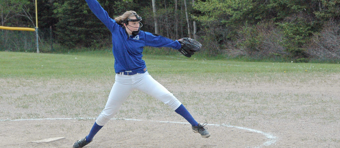 Mariner softball team struggles, but earns a win