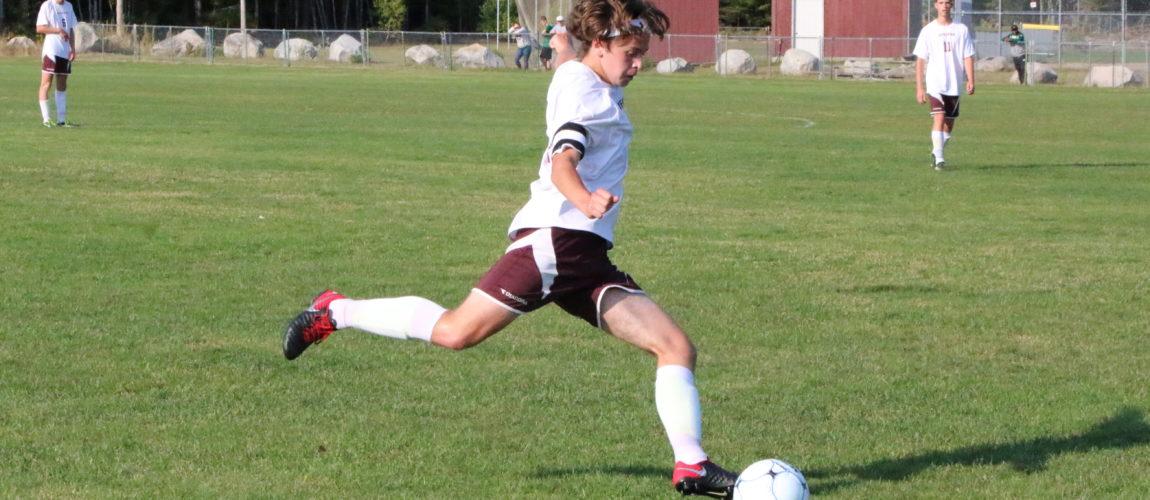 Eagle boys soccer team holds steady, girls win, over Ellsworth
