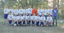 The 2017 Deer Isle-Stonington boysvarsity soccer team