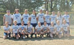 The Deer Isle-Stonington Girls Varsity Soccer Team