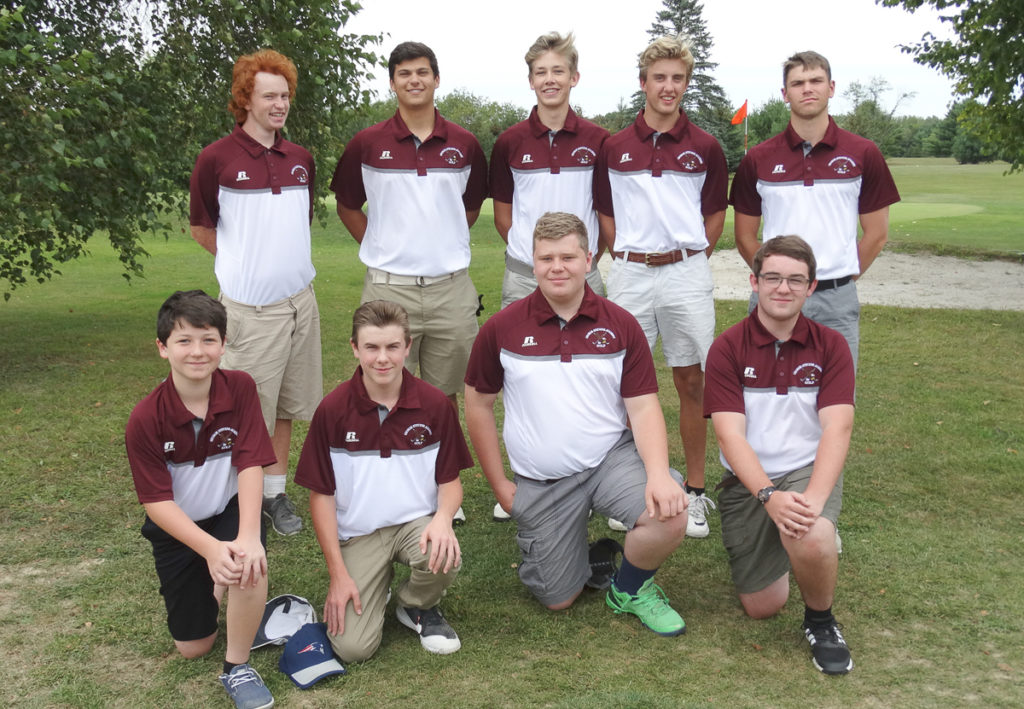 The George Stevens Academy Golf Team