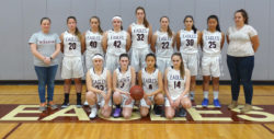 The George Stevens Academy Girls Varsity Basketball Team