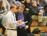 Coaches Dwayne Carter and Matt Mattson