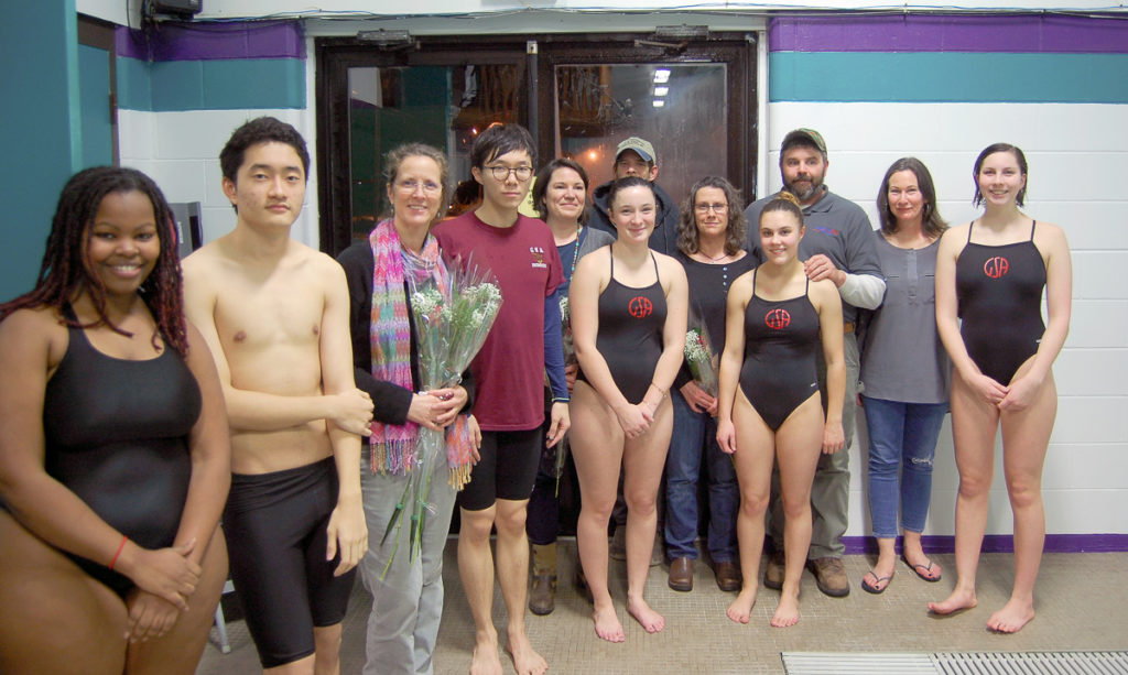 Senior swimmers