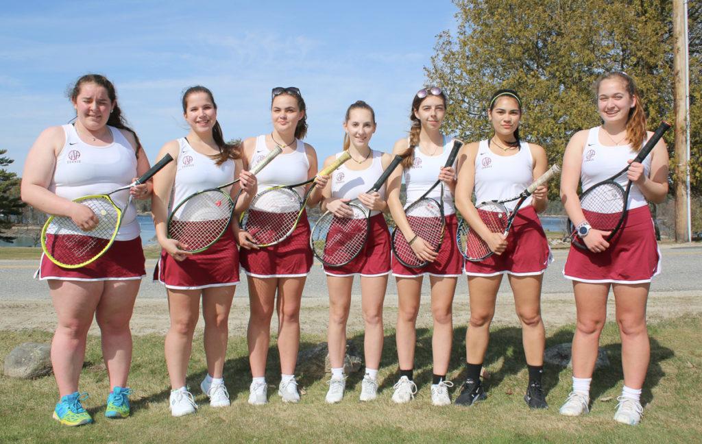 Gsa Tennis Teams A Mix Of Veterans New Talent Penobscot Bay Press